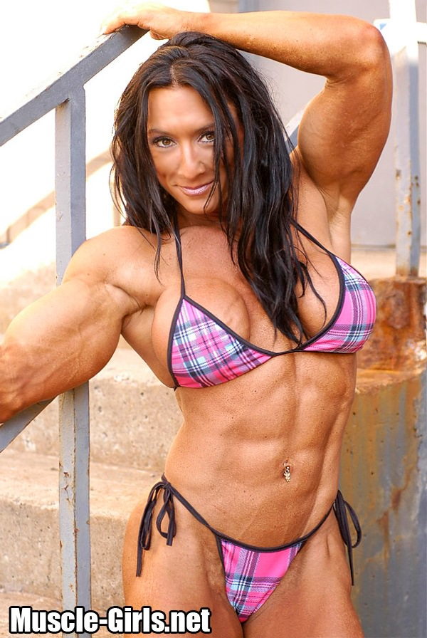 What Canadian women muscle nude