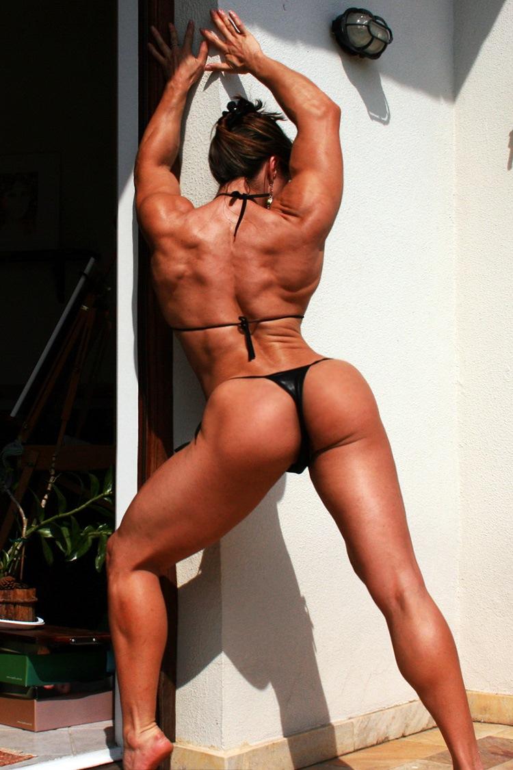Brazilian fitness model naked striptease on p 3