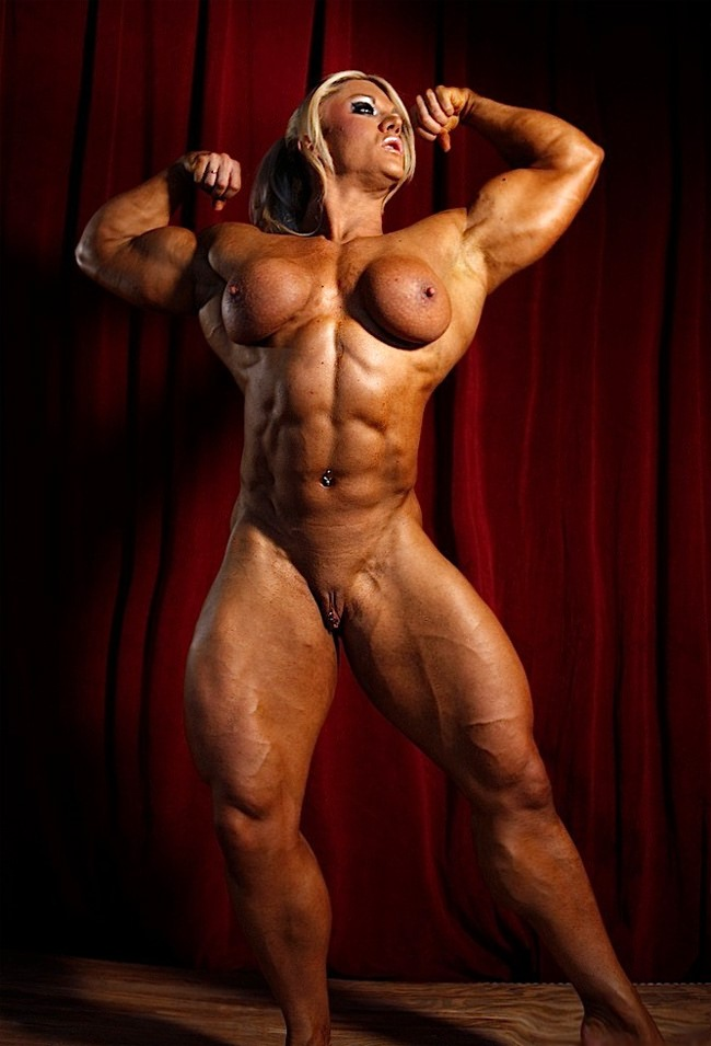 Female Bodybuilder Lisa Cross Nude