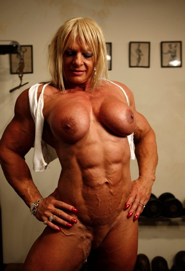 Domination muscle woman