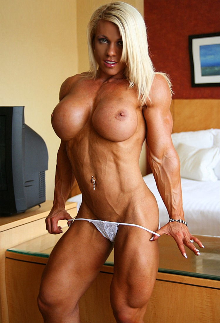 Female bodybuilding fbb bodybuilder muscle art