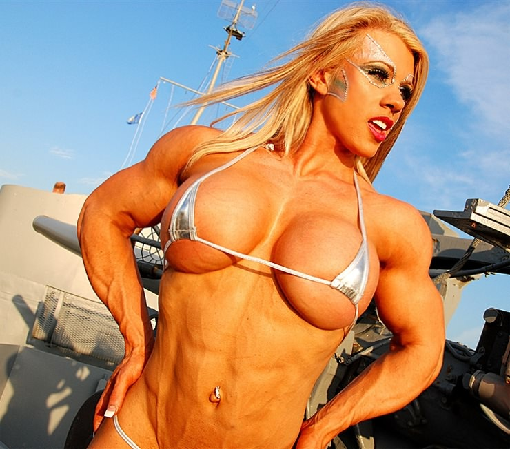 Something Muscle morph busty pics share your