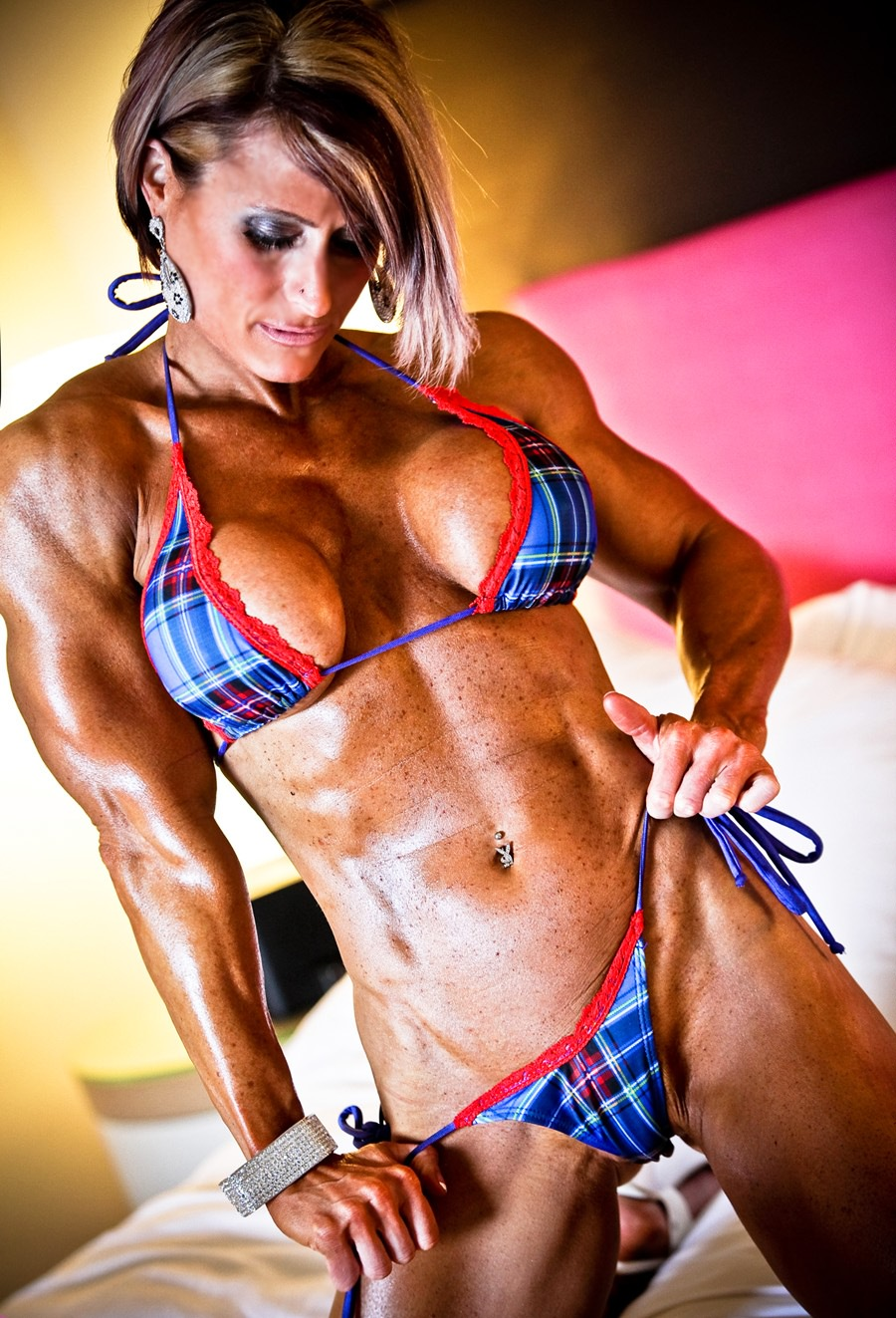Muscle babes nude