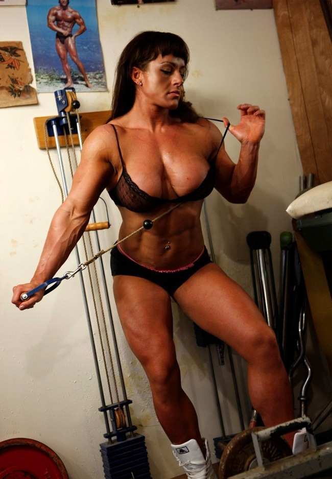 Porn photo of strong women
