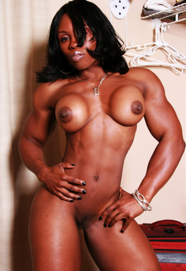 Black muscle girls naked — img 15