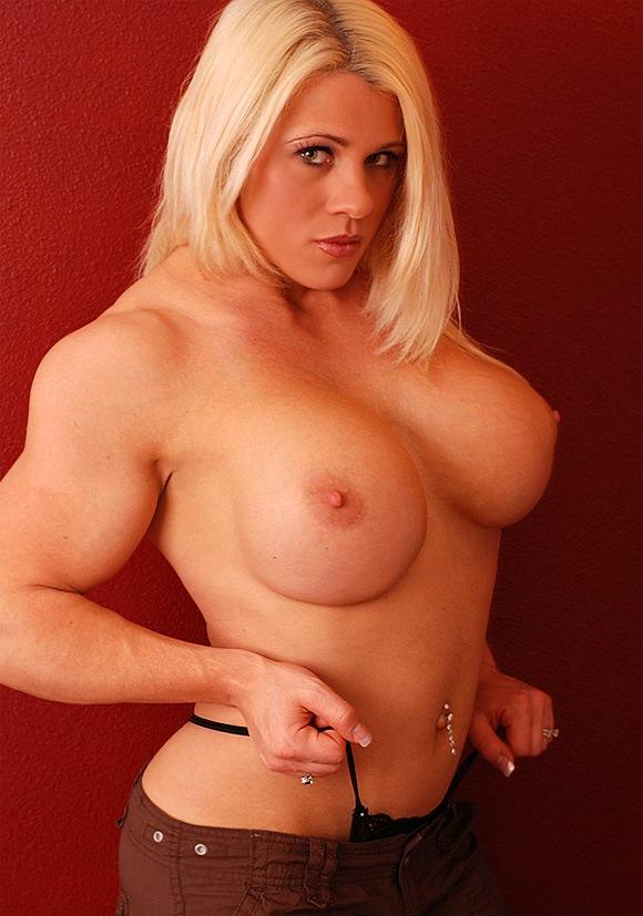 buff nude blonde women