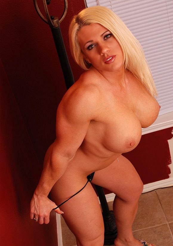 Muscle women sex