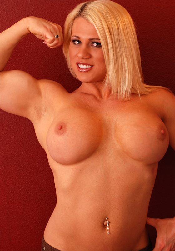 Big tits and muscles