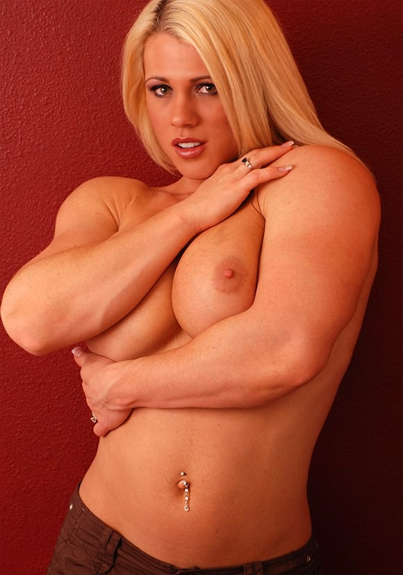 Are Sexy female bodybuilders nude