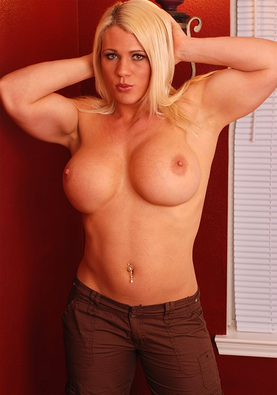 busty muscle woman nude