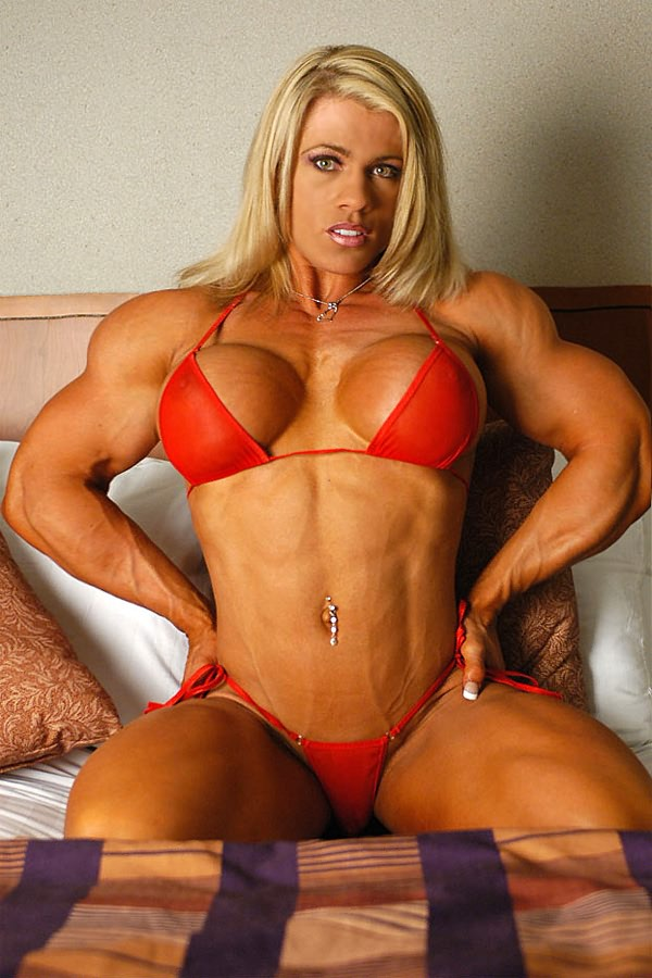 busty naked women bodybuilder