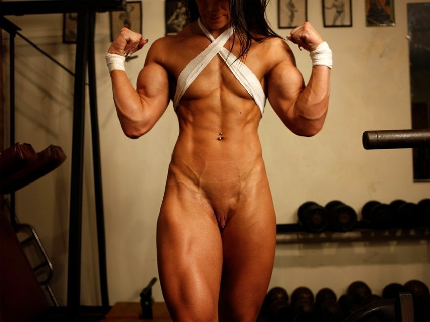 Very Hot Ultra Ripped And Muscular Amateur Model  Muscle -6875