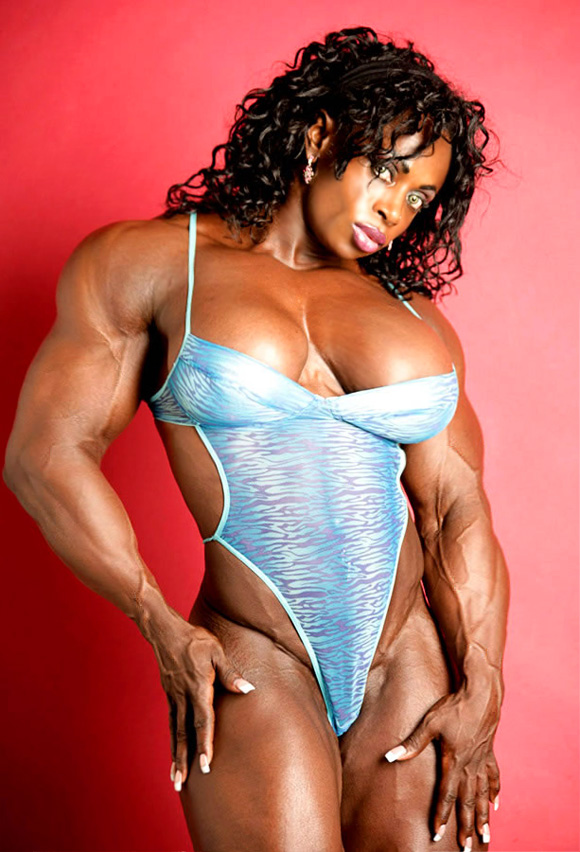 black muscle goddess