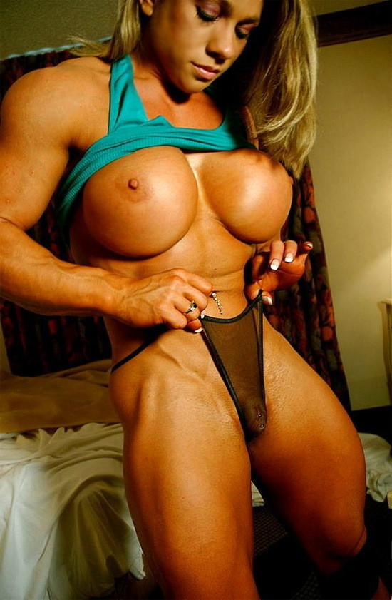 tease bodybuilder female escort