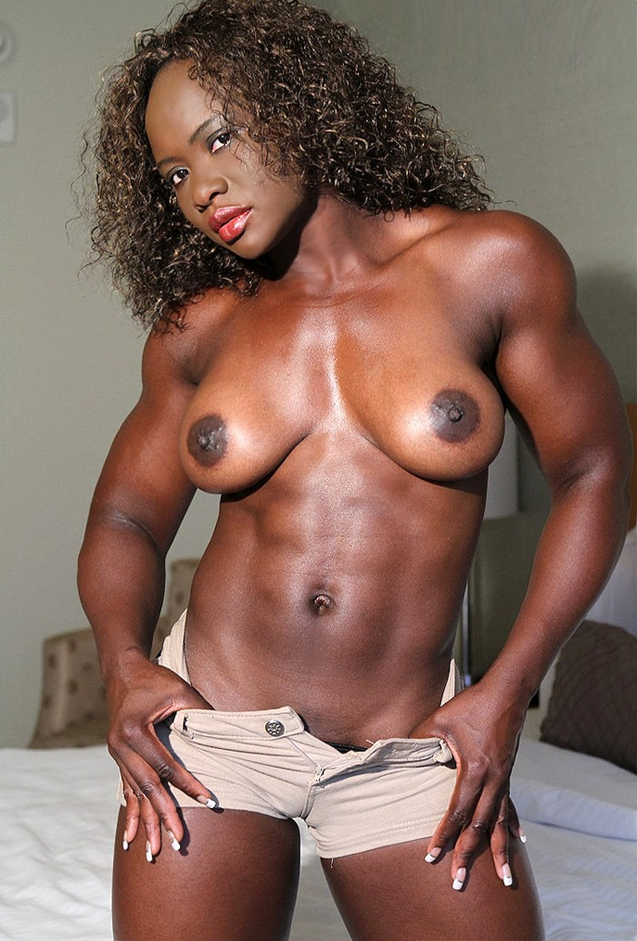 Black female fitness body women