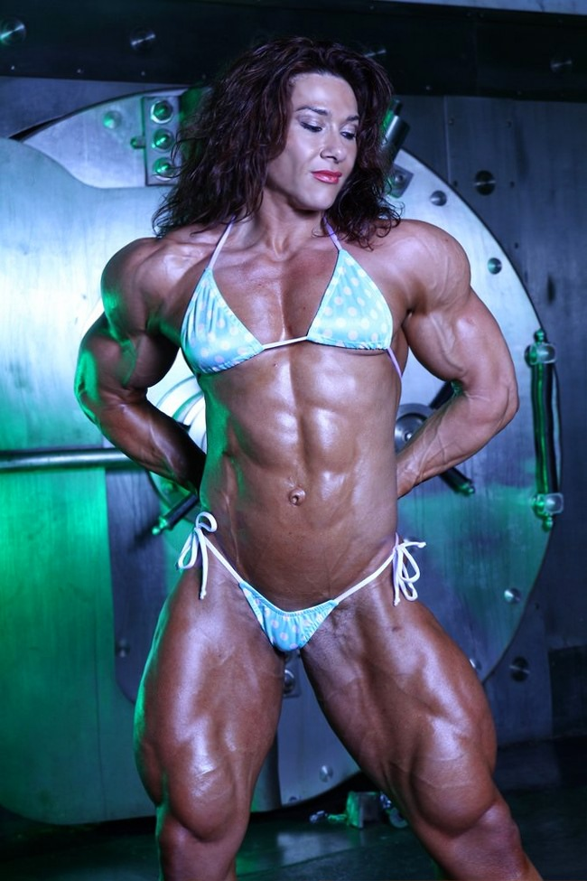 Seldom.. possible extreme female bodybuilders naked
