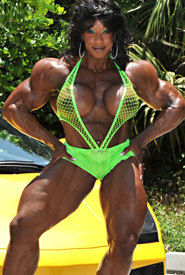 Black Massive Muscular Goddess With Huge Tits  Muscle Girls-4154