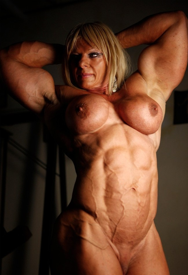 Synthia female bodybuilder porn this hot
