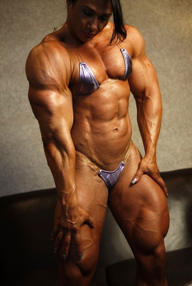 Huge Muscle Women Porn