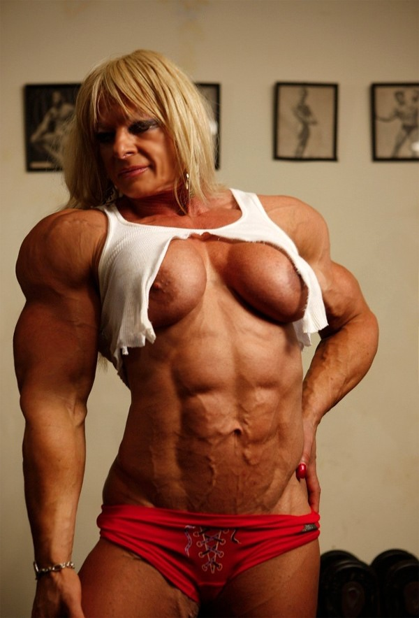 Massive Female Muscle Girls