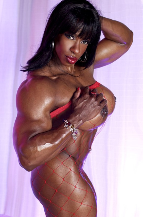 from Brody hot muscular girl with big boobs