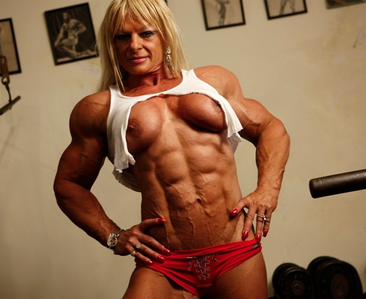 Remarkable, rather nude female bodybuilder muscle girls pity