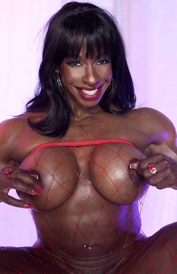 from Dwayne black women with sexy huge tits