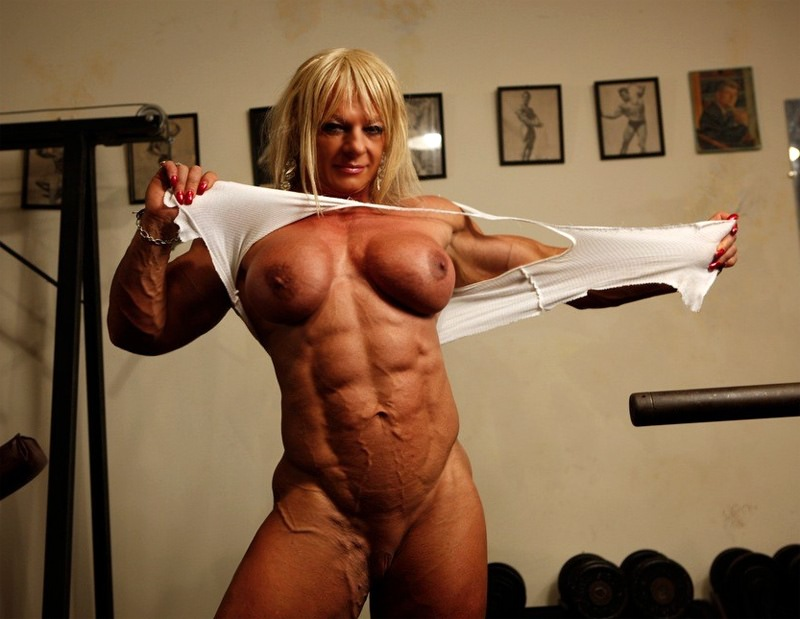 Help domination female muscle