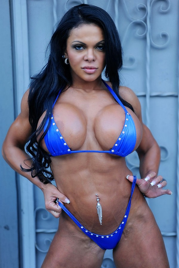 Fitness Brazilian Goddess With Massive Boobs And Cute Muscles  Muscle -6283