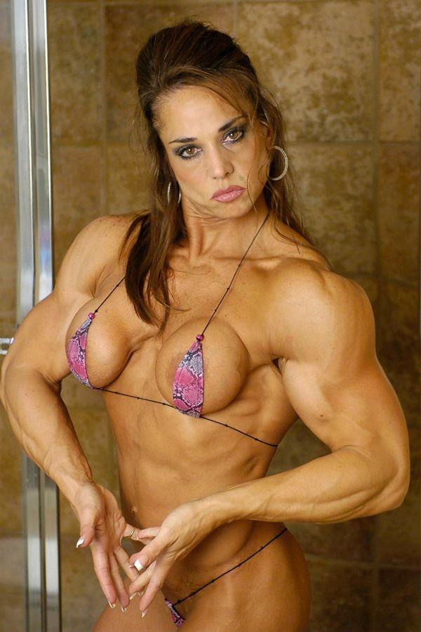 Buff body mature woman