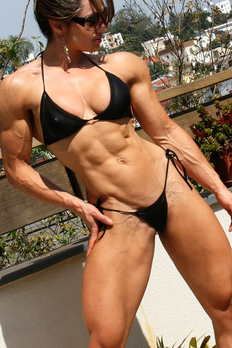 Very Hot Brazilian Fitness Model Diana Tyuleneva  Muscle -4400