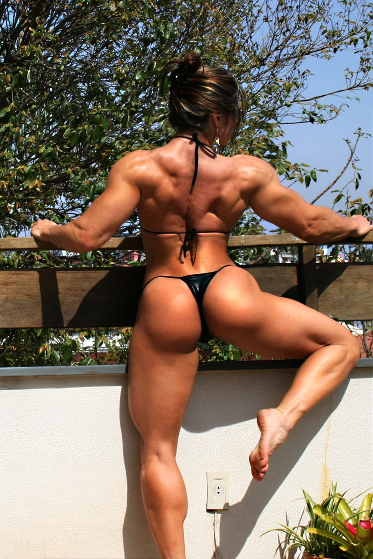 Very Hot Brazilian Fitness Model Diana Tyuleneva  Muscle -6945