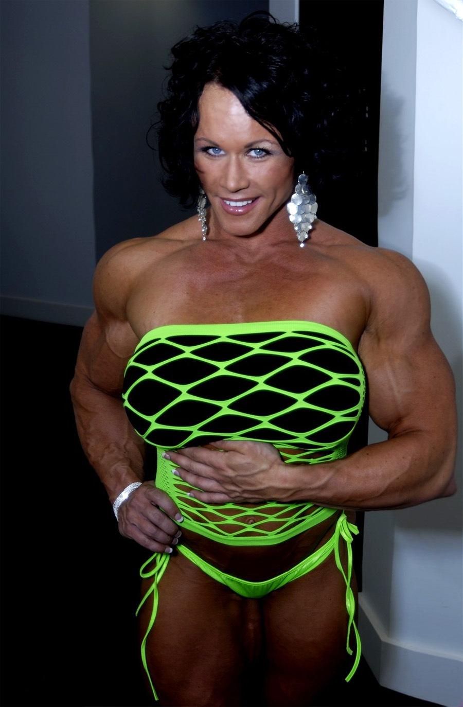 massive female muscle