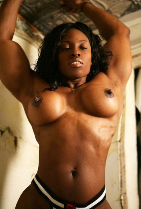 black female body nude
