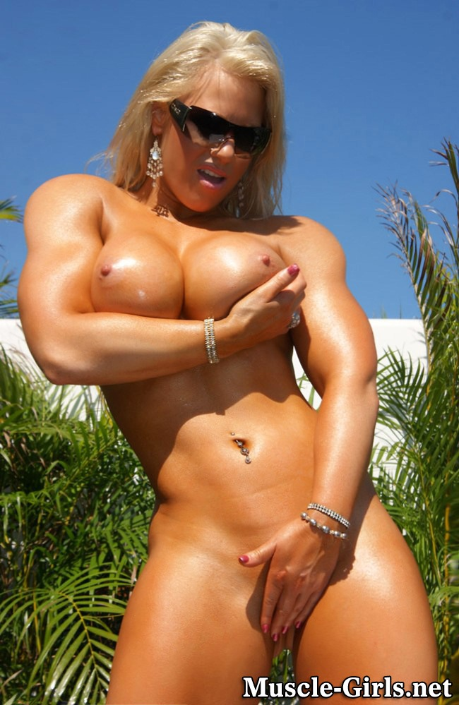 Sexy naked women bodybuilders something