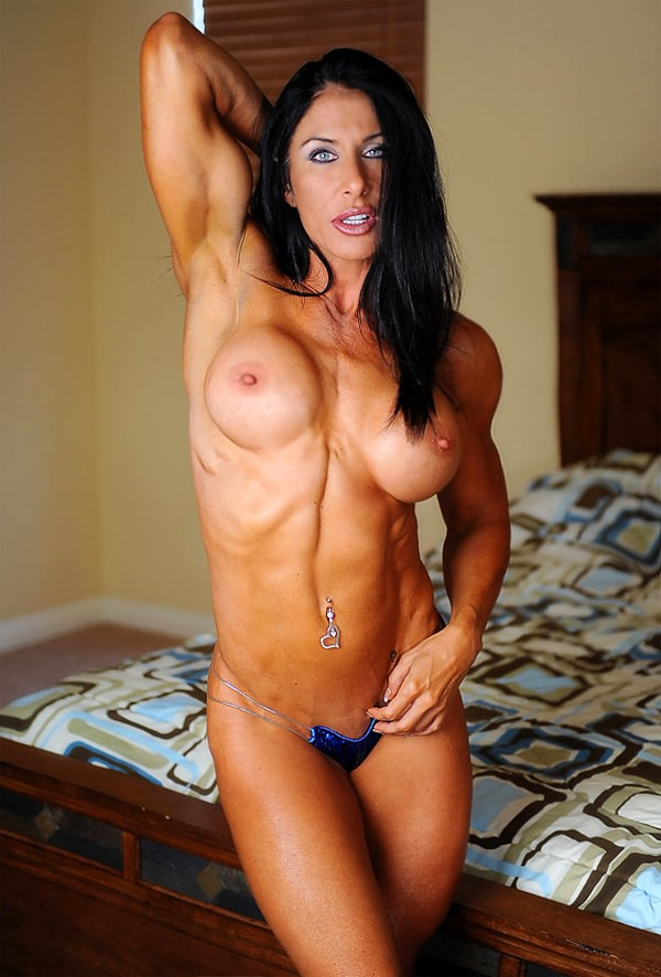 Excited Gorgeous nude female bodybuilders