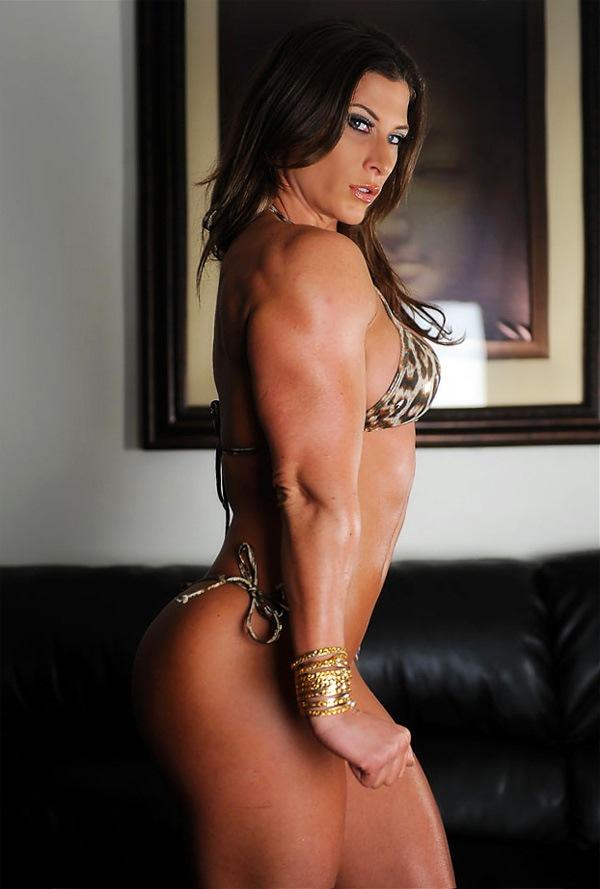 Naked female bodybuilder ashlee chambers big clit 3