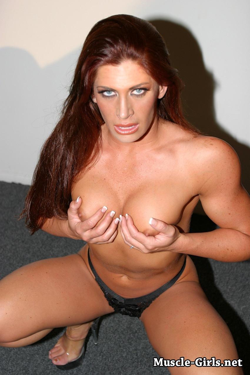 lingerie Bodybuilder women in