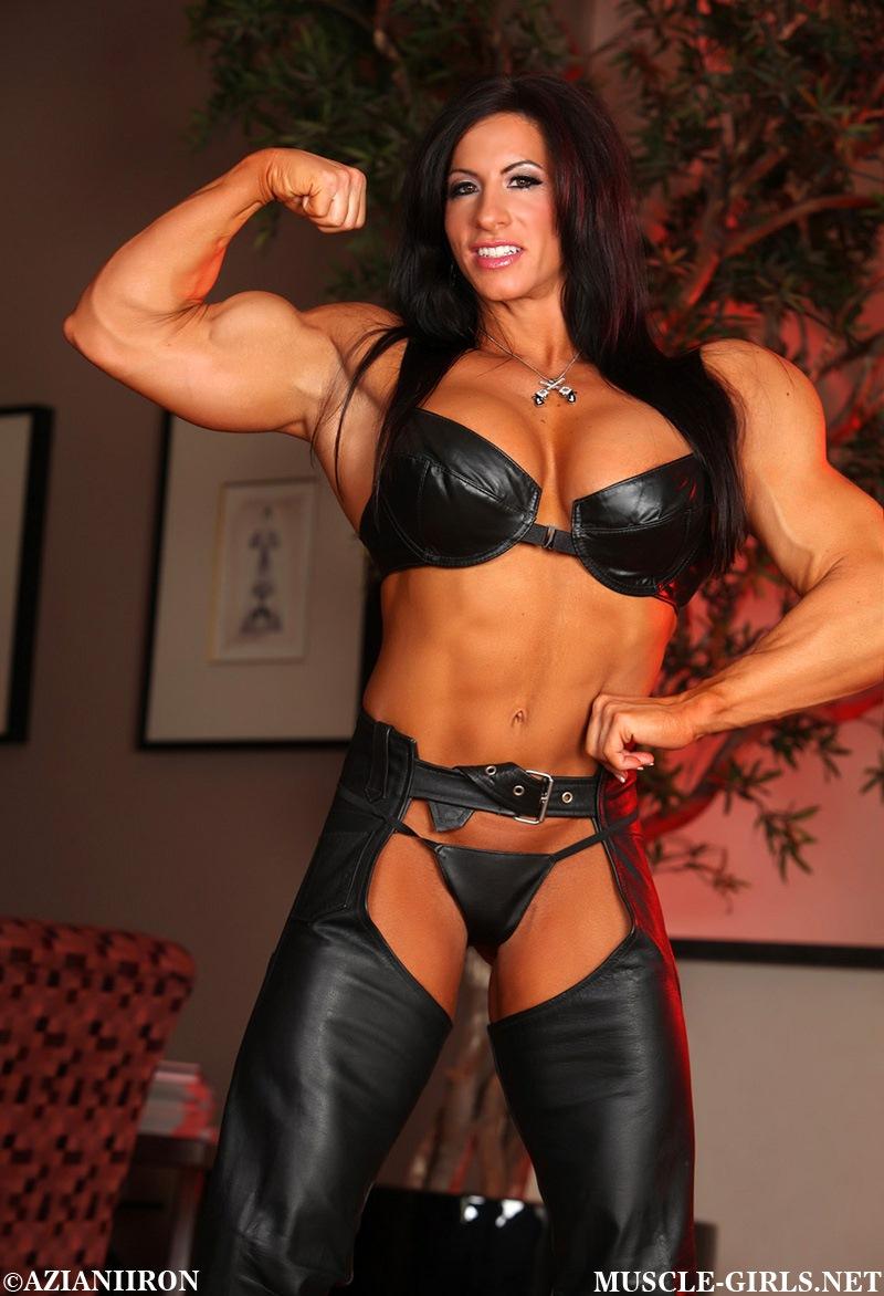 Massive Muscle Goddess Angela Salvagno | Muscle Girls