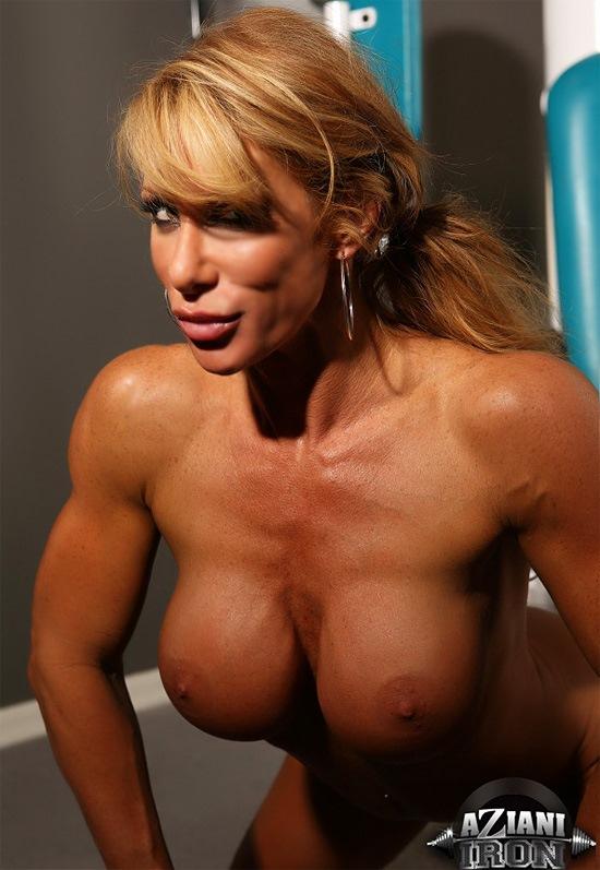 muscle women hd nude image